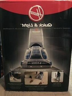 BRAND NEW HOOVER QUICK & LIGHT CARPET CLEANER SHAMPOO FH5000