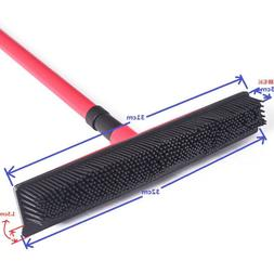 broom magic rubber cleaner pet hair removal