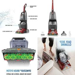 Hoover Carpet Cleaner Machine Rug Professional Turbo Scrub U