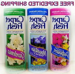 Carpet Fresh Rug And Room Deoderizer Gardenia Scent Shaker C