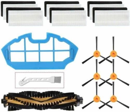 15 pack replacement parts accessories for ecovacs