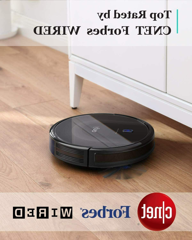 eufy MAX Vacuum Super-Thin Black