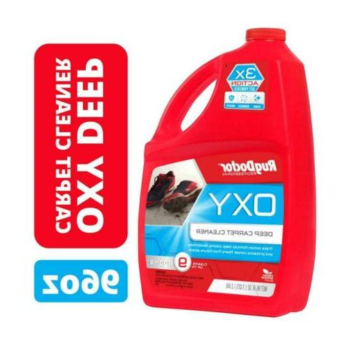 carpet cleaning solution triple action oxy 96
