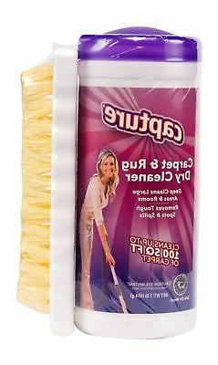 Capture Carpet Dry Cleaner Powder and Brush - Resolve Allerg
