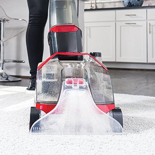 Rug Cleaner Includes, 9-oz. Solution and Versatile Machine Suction Deep Cleans Carpet and Floors