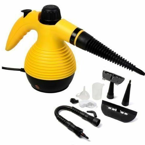 Multi Purpose 1050W Handheld Steam Cleaner W/Attachments