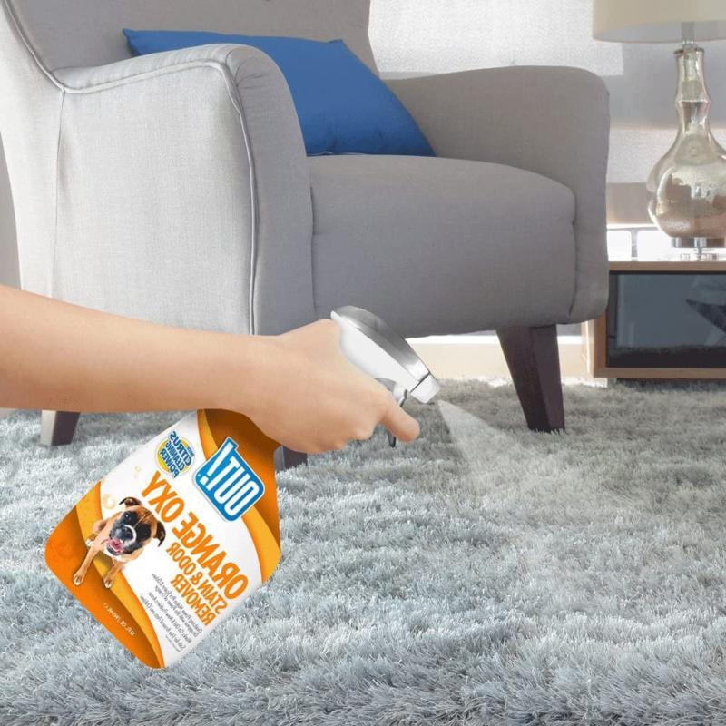 Pet Odor Spray Eliminator Dog Cat Urine Room Carpet Citrus