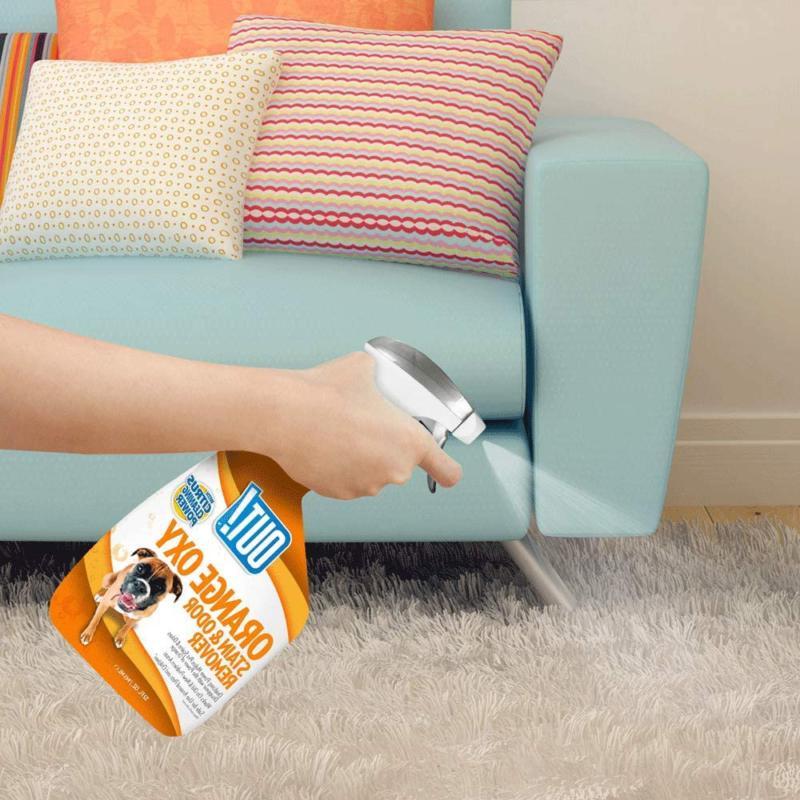 Pet Odor Eliminator Dog Cat Urine Room Carpet Citrus