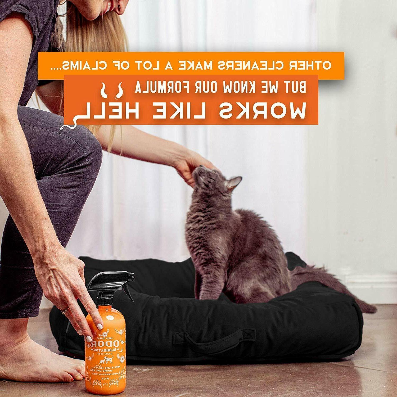 Pet Spray Eliminator Dog Stain Urine Carpet Cleaner Citru