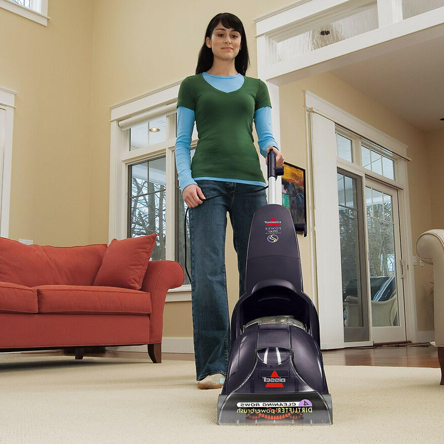 portable upright steam cleaner and shampooer