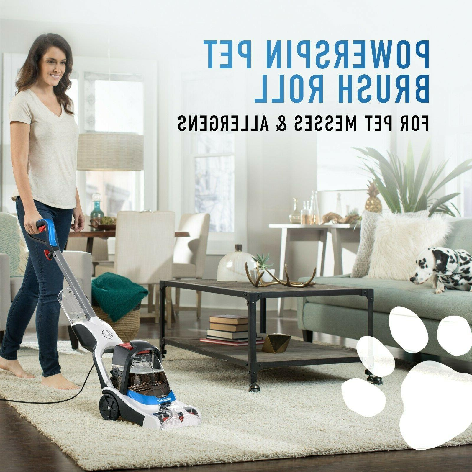 Hoover PowerDash Carpet Cleaner Antimicrobial Brushes, FH50710 Shampooer