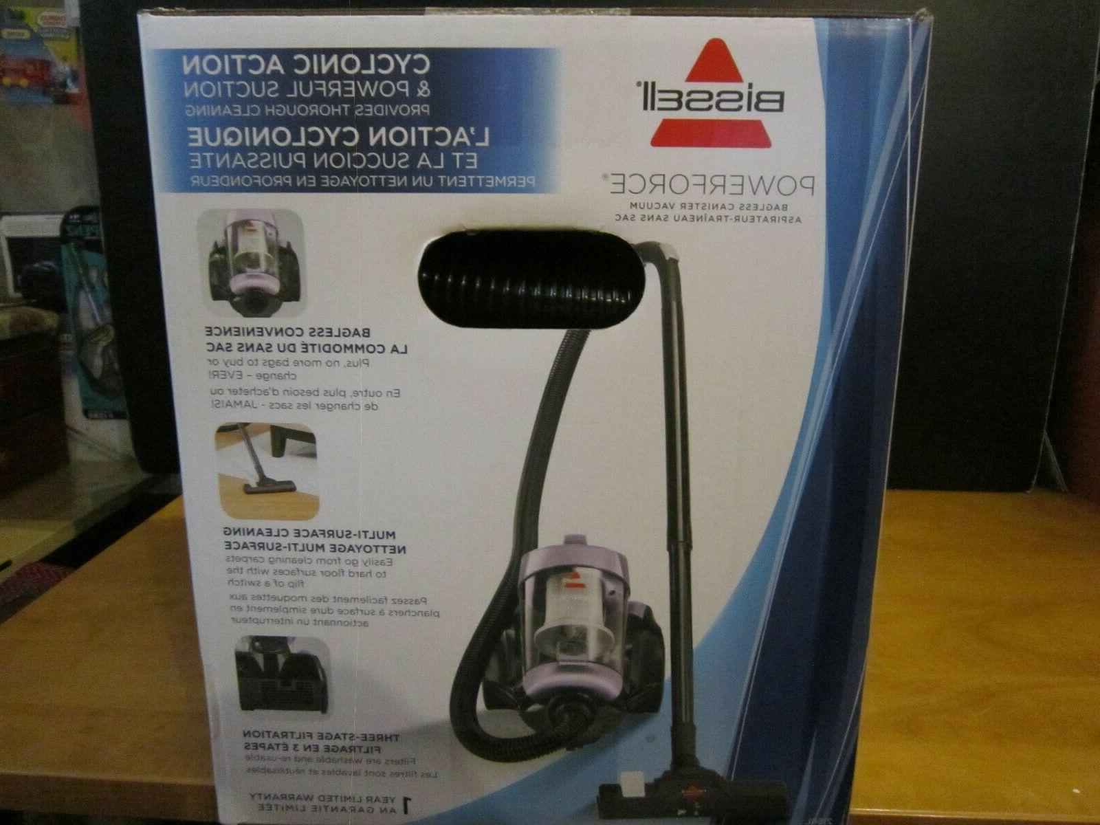 BISSELL PowerForce Bagless Vacuum Cleaner Color-BRAND NEW