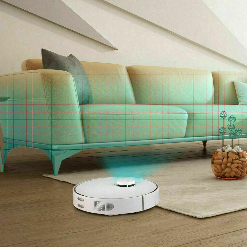 360 Robotic Vacuum Sweeper Carpet Pets US