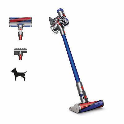 v7 fluffy hepa cordless vacuum cleaner blue