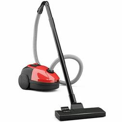 Vacuum Cleaner Canister Bagged Cord Rewind Carpet Hard Floor