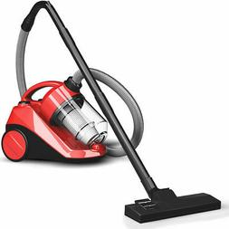 Vacuum Cleaner Canister Bagless Cord Rewind Carpet Hard Floo